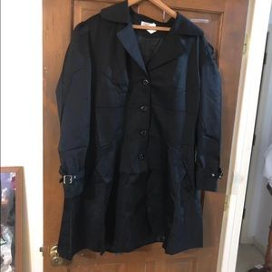 Jackets & Blazers - Plus Size Black Gothic Corset Coat Size 2X